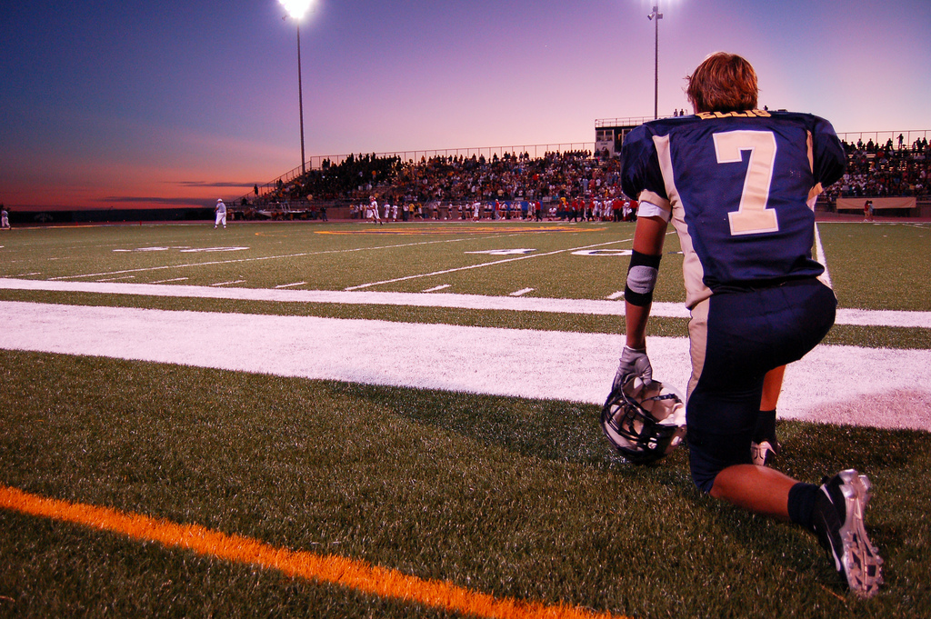 Hischool_football_sunset-1